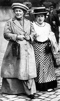 Κλάρα Τσέτκιν και Ρόζα Λούξεμπουργκ