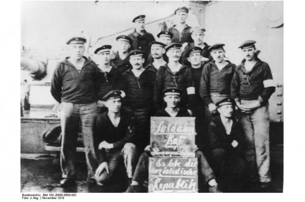 Νοέμβριος 1918, Ανταρσία ναυτών